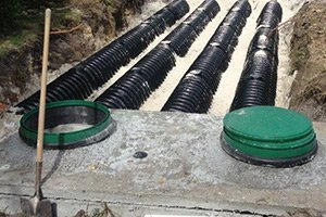 new septic tank system installation